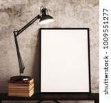 picture frame in front of... | Shutterstock . vector #1009551277