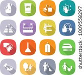 flat vector icon set   cleanser ... | Shutterstock .eps vector #1009558297