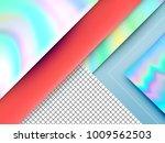 modern trendy abstract... | Shutterstock .eps vector #1009562503