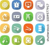 flat vector icon set   target... | Shutterstock .eps vector #1009577917