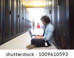 team of young technicians... | Shutterstock . vector #1009610593