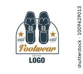 footwear logo design  estd 1963 ...   Shutterstock .eps vector #1009629013