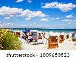 scharbeutz  beach  germany    Shutterstock . vector #1009650523