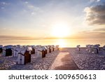 scharbeutz  beach  germany    Shutterstock . vector #1009650613