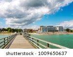 scharbeutz  beach  germany    Shutterstock . vector #1009650637