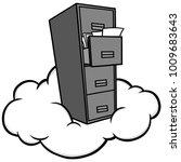 cloud storage illustration   a...   Shutterstock .eps vector #1009683643