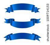 realistic ribbon banners.vector ... | Shutterstock .eps vector #1009714153
