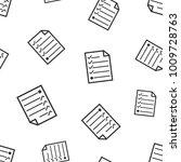 hecklist seamless pattern....