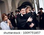 parents congratulate the... | Shutterstock . vector #1009751857