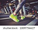 theme of sport and weight loss. ... | Shutterstock . vector #1009756627