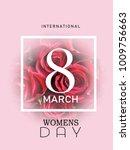 womens day happy international ...   Shutterstock .eps vector #1009756663