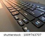 Black Keyboard Blurred...