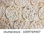 puffed rice crispy bread... | Shutterstock . vector #1009769407