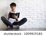 asian young man student with...   Shutterstock . vector #1009819183