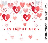 love is in the air with...   Shutterstock .eps vector #1009848493