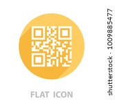 qr code sample for smartphone... | Shutterstock .eps vector #1009885477