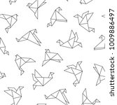 vector seamless pattern with... | Shutterstock .eps vector #1009886497