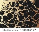 golden foil texture. vector... | Shutterstock .eps vector #1009889197