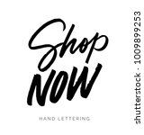 shop now. hand drawn creative...   Shutterstock .eps vector #1009899253