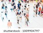 rush hour people | Shutterstock . vector #1009904797