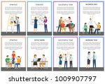strategy and successful team ... | Shutterstock .eps vector #1009907797