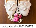 wedding bridal bridal bags....   Shutterstock . vector #1009930777