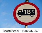 black van lorry truck on white... | Shutterstock . vector #1009937257