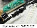 brush of black mascara  with... | Shutterstock . vector #1009952617