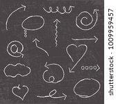 vector abstract white hand... | Shutterstock .eps vector #1009959457