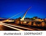 dublin  ireland. samuel becket...   Shutterstock . vector #1009964347