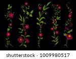 traditional folk flower... | Shutterstock .eps vector #1009980517