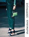 women street style concept | Shutterstock . vector #1009994143
