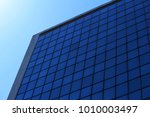 glass office building in a...   Shutterstock . vector #1010003497