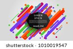 vector  abstract geometric... | Shutterstock .eps vector #1010019547