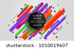 vector  abstract geometric... | Shutterstock .eps vector #1010019607