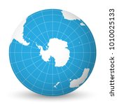 earth globe with green world...   Shutterstock .eps vector #1010025133