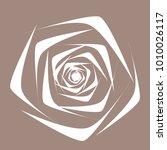 rose. vector flower. beautiful...   Shutterstock .eps vector #1010026117