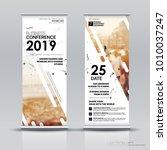 vertical banner design... | Shutterstock .eps vector #1010037247