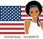 illustration of a beautiful... | Shutterstock .eps vector #101004073