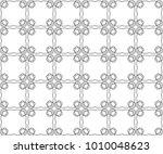 seamless vector pattern in... | Shutterstock .eps vector #1010048623