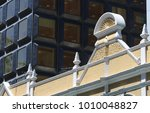 federation building facade and... | Shutterstock . vector #1010048827