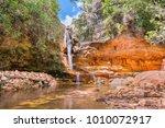 Small photo of Wari Falls in Canaima National Park, Venezuela