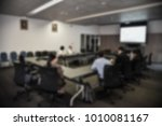 blurred image of board of... | Shutterstock . vector #1010081167