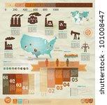 detail infographic vector...   Shutterstock .eps vector #101008447