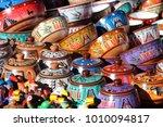 decorative articles peru | Shutterstock . vector #1010094817