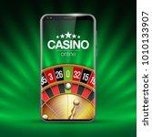vector online poker casino... | Shutterstock .eps vector #1010133907