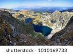 seven rila lakes in rila... | Shutterstock . vector #1010169733