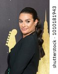 Small photo of New York, NY - January 25, 2018: Lea Michele wearing dress by Elie Saab attends Delta Airlines hosts Grammy nominated artist Julia Michaels event at Bowery Hotel