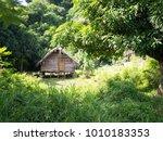Wood Hut Home Local Village On...