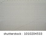 whilte rattan weave for closeup ... | Shutterstock . vector #1010204533
